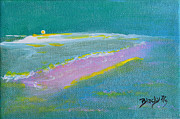 Ocean Art. Beach Decor Originals - The Peace Of Solitude by Donna Blackhall