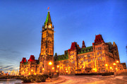 Joshua Mccullough Photography Prints - The Peace Tower Print by Joshua McCullough