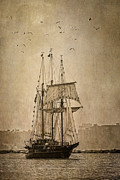 Wooden Ship Metal Prints - The Peacemaker Metal Print by Dale Kincaid
