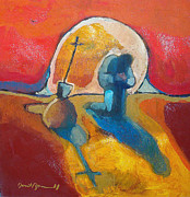 Sacred Art Paintings - The Pearl of Great Price by Daniel Bonnell