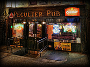 Singles Framed Prints - The Peculier Pub Framed Print by Lee Dos Santos