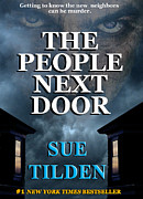 Paperback Cover Design Posters - The People Next Door faux book cover Poster by Mike Nellums
