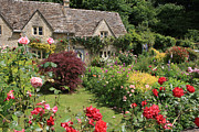 Charming Cottage Photo Originals - The Perfect Garden by Paul Felix