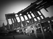 Neurotic Images Photography Prints - The Peter Iredale 7a Print by Chalet Roome-Rigdon