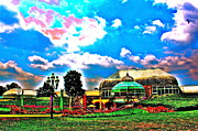 Jay Nodianos Metal Prints - The Phipps Conservatory Metal Print by Jay Nodianos