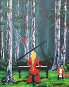 Patricia Olson - The Pianist In The Woods