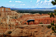 Utah Digital Art Prints - The Piano at Bryce Canyon Print by Tom Prendergast