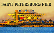 Saint Petersburg Prints - The Pier 1973 - 2013 Print by David Lee Thompson