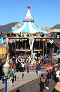 Spectator Prints - The Pier 39 Carousel San Francisco California 5D26098 Print by Wingsdomain Art and Photography