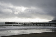Depress Framed Prints - The Pier at Avila beach CA. Framed Print by Victor Elias