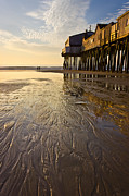 Old Orchard Beach Photos - The Pier by Benjamin Williamson