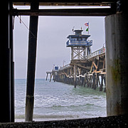 Clemente Photo Prints - The Pier Print by Scott Terry
