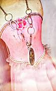 Kathleen K Parker - The Pink Tutu Dress with the Fleur de Lis