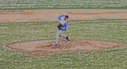Athletic Digital Art - The Pitcher Digital Art by Thomas Woolworth
