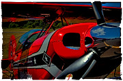 Pitts Art - The Pitts S2-B Biplane by David Patterson
