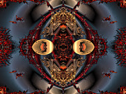 """algorithmic Abstract"" Framed Prints - The place of reconciliation Framed Print by Claude McCoy"