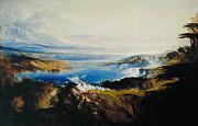John Martin - The Plains of Heaven by John Martin