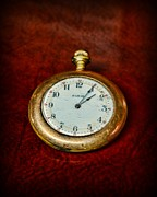 Old Face Framed Prints - The Pocket Watch Framed Print by Paul Ward