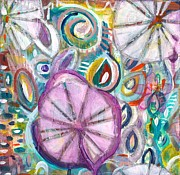 Lilypad Mixed Media - The Pond by Aimee Wheaton