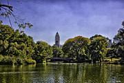 The Pond - Central Park Print by Madeline Ellis