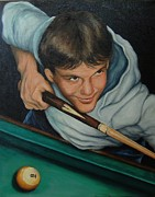 Pamela Humbargar - The Pool Player