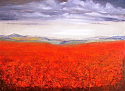 Heather Matthews - The poppies of Ditchling...