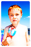 Kid Prints - The Popsicle Print by Edward Fielding