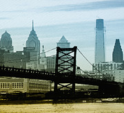 Franklin Art - The Port of Philadelphia by Bill Cannon
