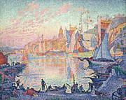 Famous Artists - The Port of Saint-Tropez by Paul Signac