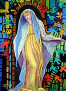 Religious Art Paintings - The Portal by Caroline Street