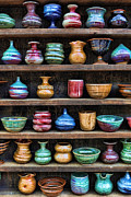 Glazed Photos - The Potters Shelf by Lee Dos Santos