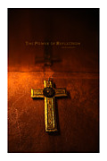 Religious Mixed Media Prints - The Power of Reflection Print by Steve Crowhurst