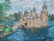 Castle Pastels - The Powerhouse Castle by Leanne Whipple