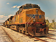 Locomotives Framed Prints - The Powerhouse Framed Print by Wendy J St Christopher