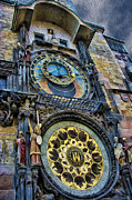 Astronomical Clock Acrylic Prints - The Prague Astronomical Clock III Acrylic Print by Lee Dos Santos