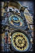 Astronomical Clock Acrylic Prints - The Prague Astronomical Clock Acrylic Print by Lee Dos Santos