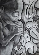 Metaphysical Drawings - The Pre Birth Memory by Jon David Gemma