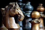 Chess Photo Prints - The Prelude Print by Joe Kozlowski