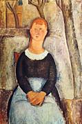 Amedeo  Modigliani - The pretty vegetable vendor