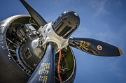 Airplane Radial Engine Photos - The Prop by Bradley Clay