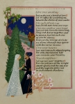 Calligraphy Drawings Prints - The Prophet - Kahlil Gibran  Print by Dave Wood