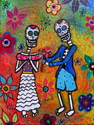 Propose Paintings - The Proposal Day Of The Dead by Pristine Cartera Turkus