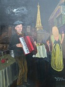 Music Lovers Painting Originals - The Proposal by Patricia Swink