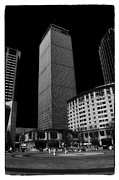 Boston Ma Prints - The Pru Print by Mike Martin