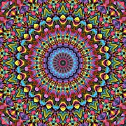 Trippy Digital Art - The Psychedelic Days by Lyle Hatch
