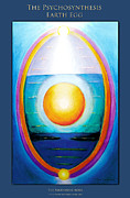 Transpersonal Art - The Psychosynthesis Earth Egg by Clare Goodwin