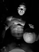 Nudes Digital Art Prints - The Pumpkin Master Print by Jake Hartz