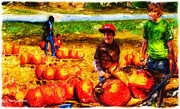 Ted Azriel - The Pumpkin Patch