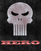 Punisher Framed Prints - The Punisher Framed Print by Eric Lortie