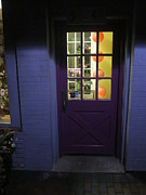 Guy Ricketts Photography Prints - The Purple Door Print by Guy Ricketts